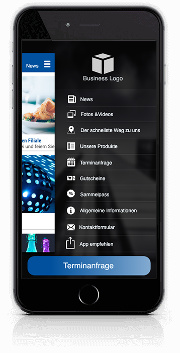 Businessapp - Digitale Kundenbindung für mehr Umsatz - made by apptec
